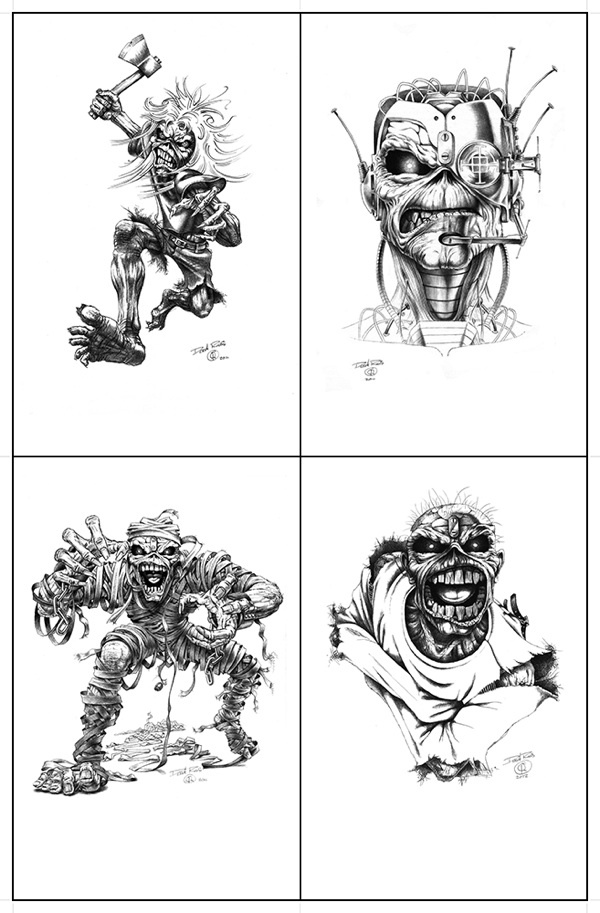 An interview with Iron Maiden artist Derek Riggs | Cyrus Aman