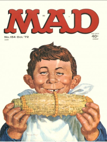 Mad Magazine, featuring Alfred E. Neuman.