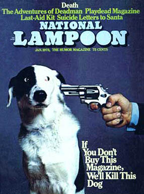 National Lampoon Magazine.